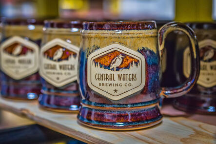 Central Waters Brewing Co. Sunset Hill Stoneware Stein