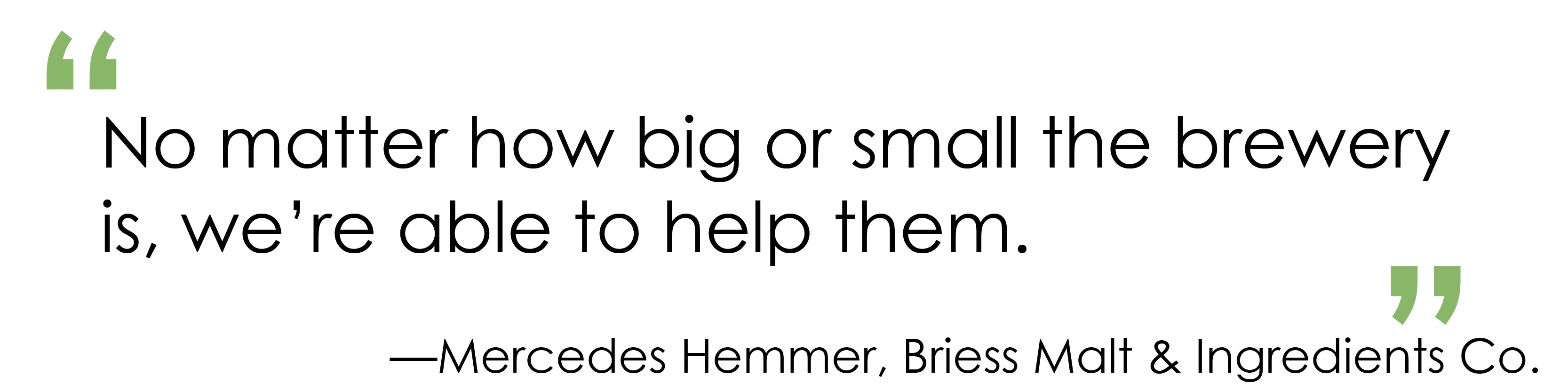 Pull Quote Briess