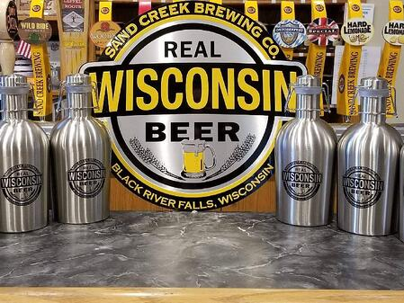 Sand Creek Brewing Company, one of the Wisconsin Breweries