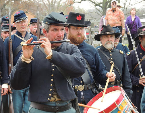 Appomattox Court House Reenactment