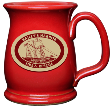 Baileys Harbor Fire & Rescue Red Wide Mouth