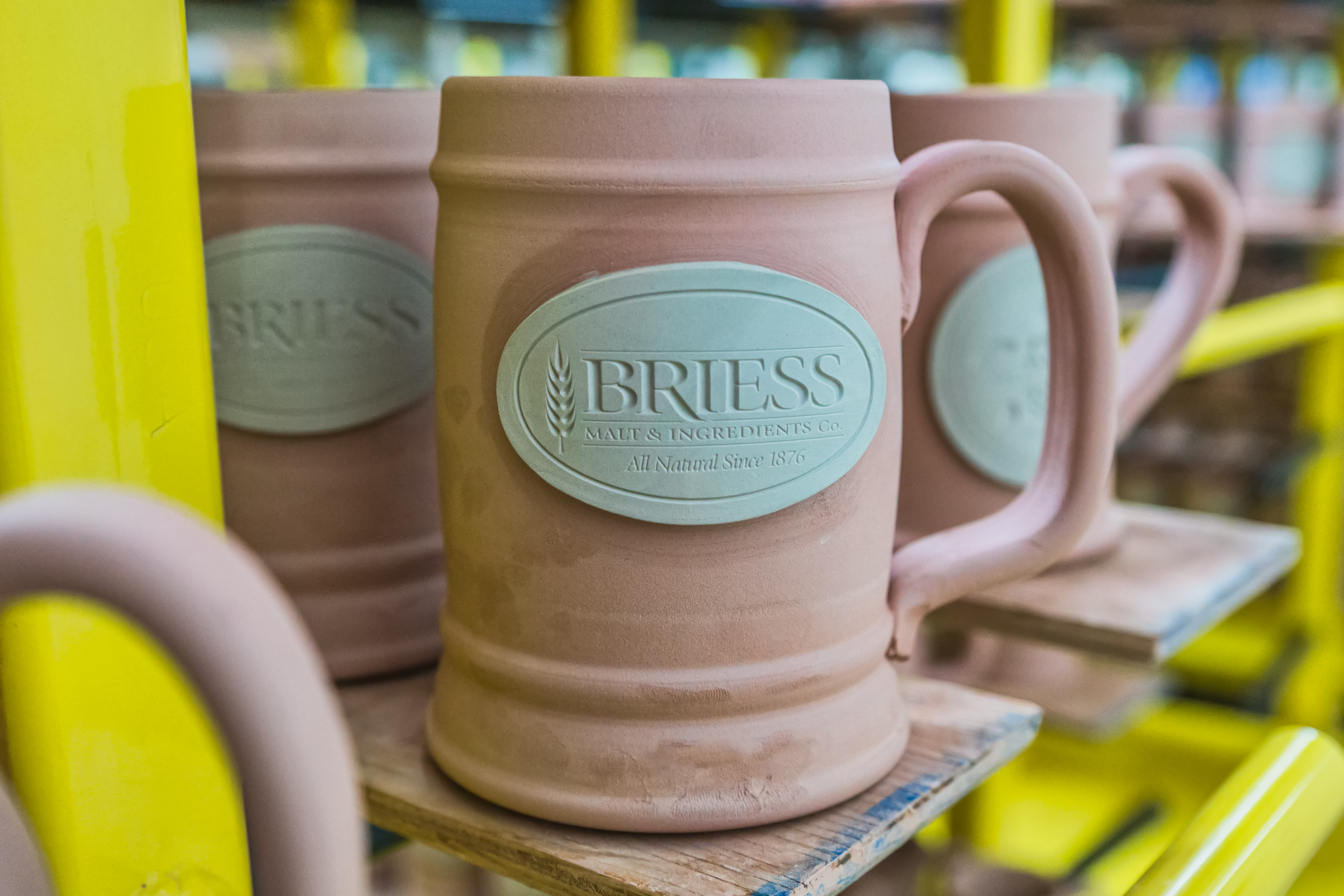 Briess unglazed Sunset Hill Stoneware stein