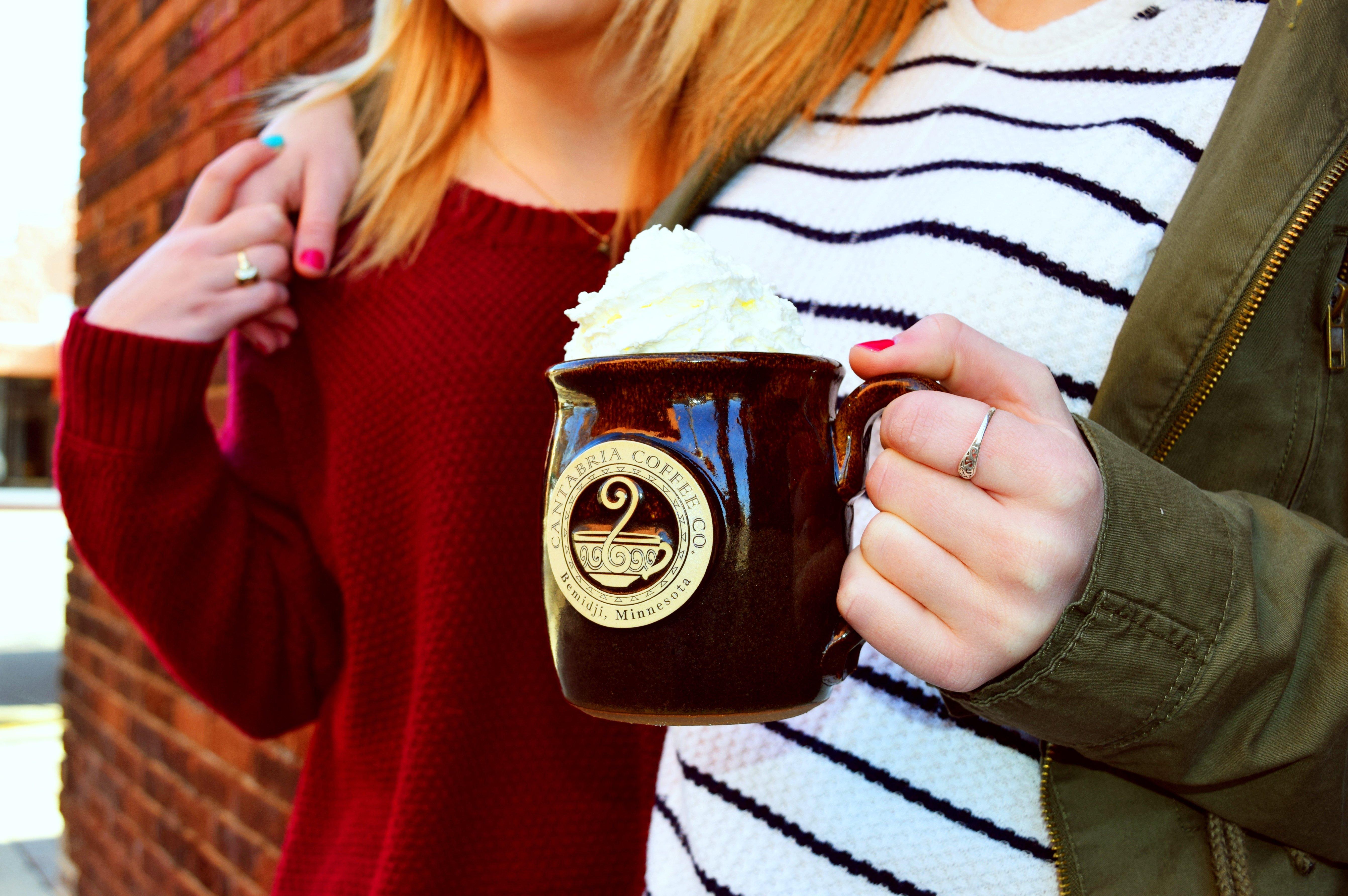 Cantabria Coffee mug with whipped cream