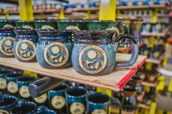 Finished Sunset Hill Stoneware mugs