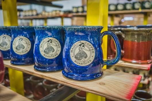 Maui Coffee Roasters Sunset Hill Stoneware mug