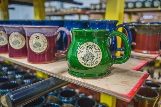 Maui Coffee Roasters mugs