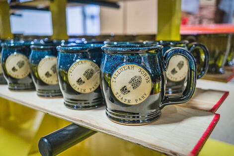 Happy Soul mugs in Galaxy Night for Tallulah Gorge State Park