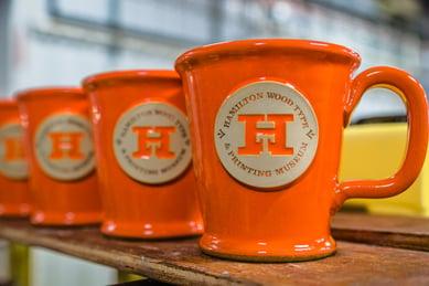 Morning Rambler mug shape in Orange Sherbet