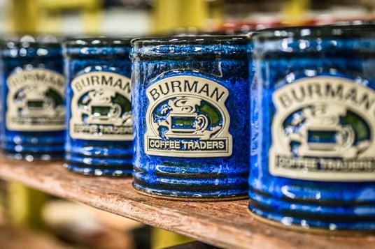 Burman Coffee Traders mugs