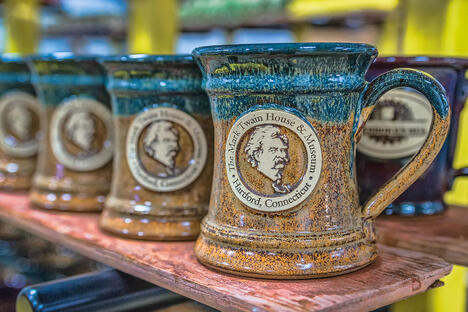 Mark Twain House & Museum mugs in Copperhead Run