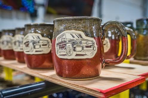 Mercedes Benz mugs