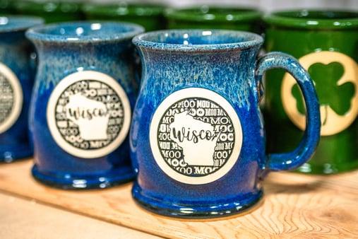 Wisconsin moo mug by Liz Babicky