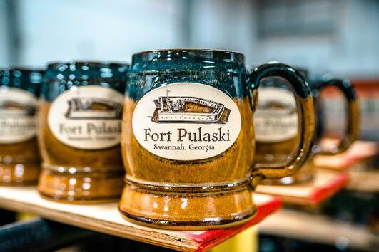 Fort Pulaski National Monument Dale Barrel in Copperhead Run