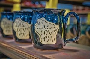 Discover Wisconsin mug
