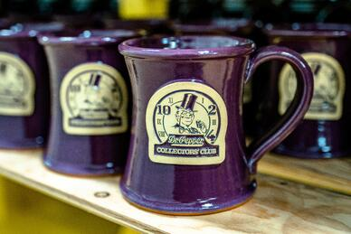 Dr. Pepper Museum mug in Imperial Purple