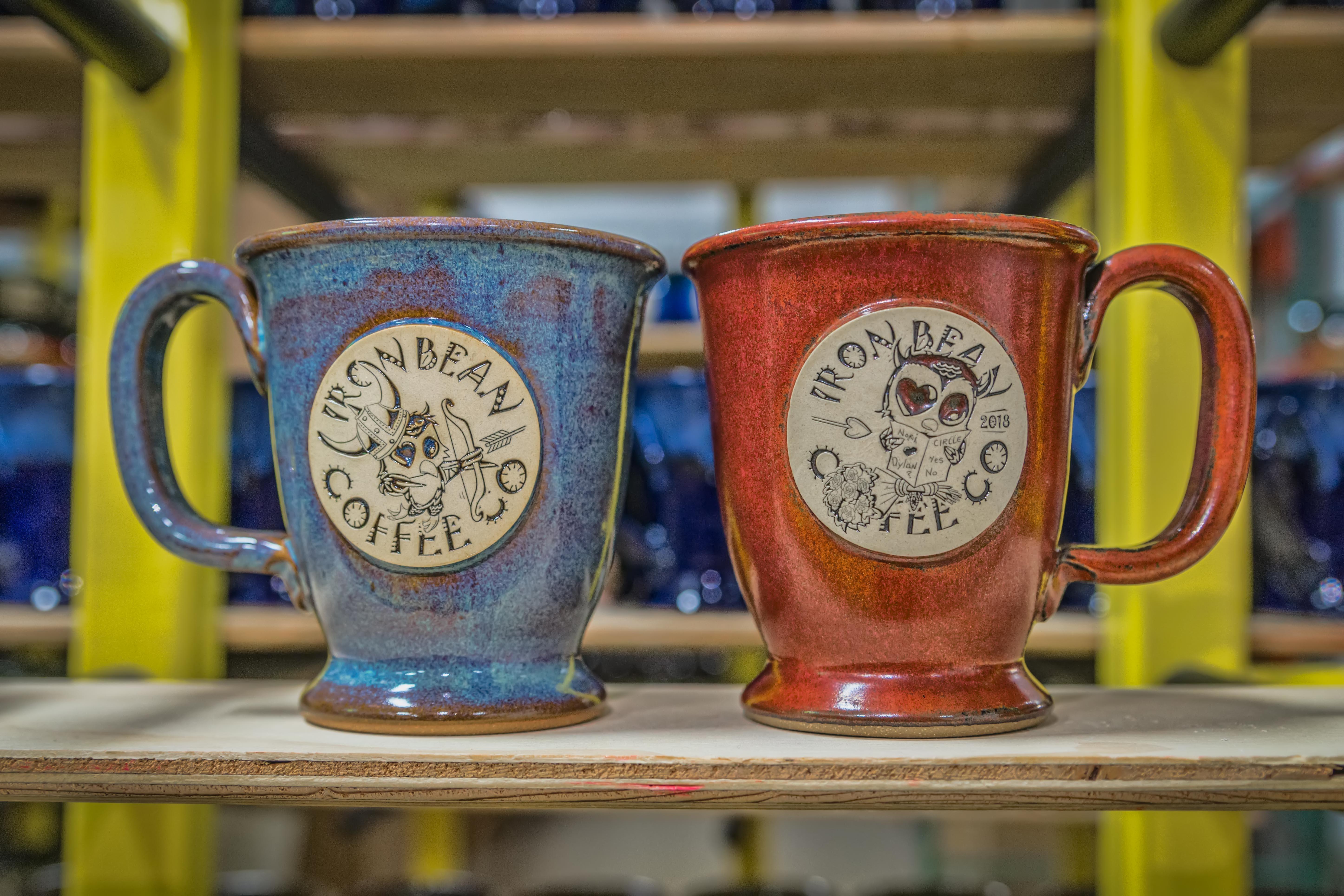 Iron Bean Valentine's Day mug set