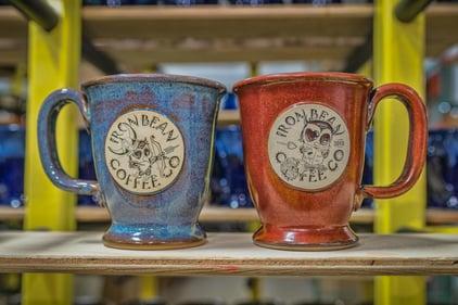 Valentine's Day mug set for Iron Bean Coffee Company
