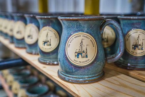 Walt Disney Family Museum castle mug