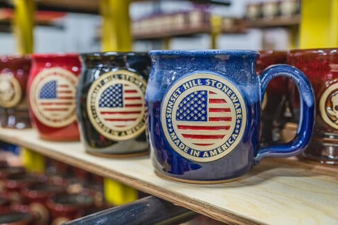 Made in America test mug in Royale Frost