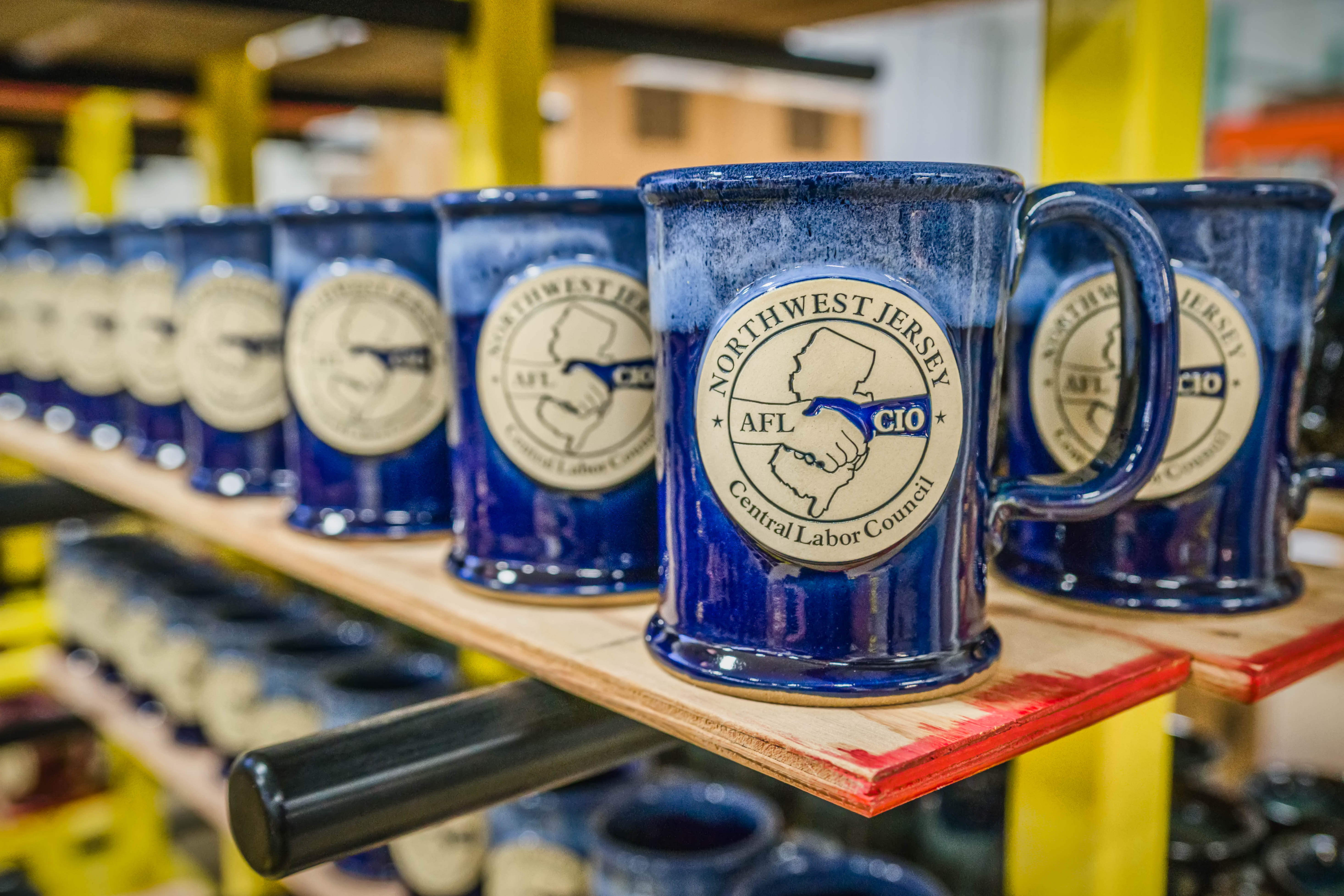 Mugs for Northwest Jersey Central Labor Council