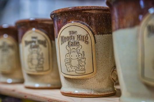 Moody Mug Cafe mugs in On the Rocks
