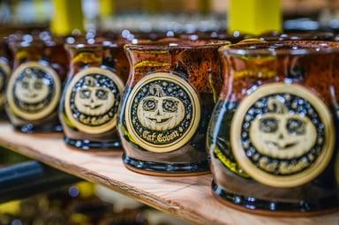 Cat Coven jack o'lantern mug