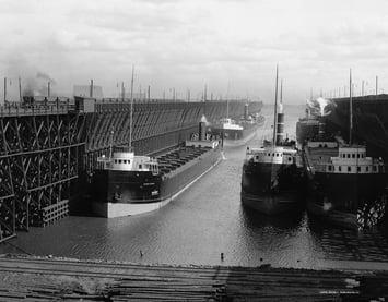 Duluth Ore Docks, c. 1900
