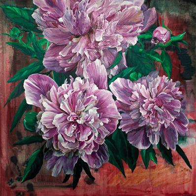 Elena's Oil Painting titled Otsuyu