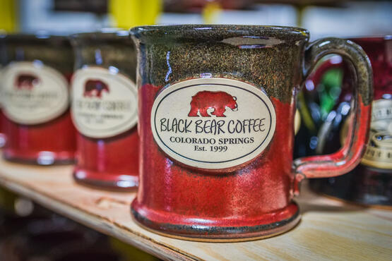 Executive Slim Black Bear Coffee