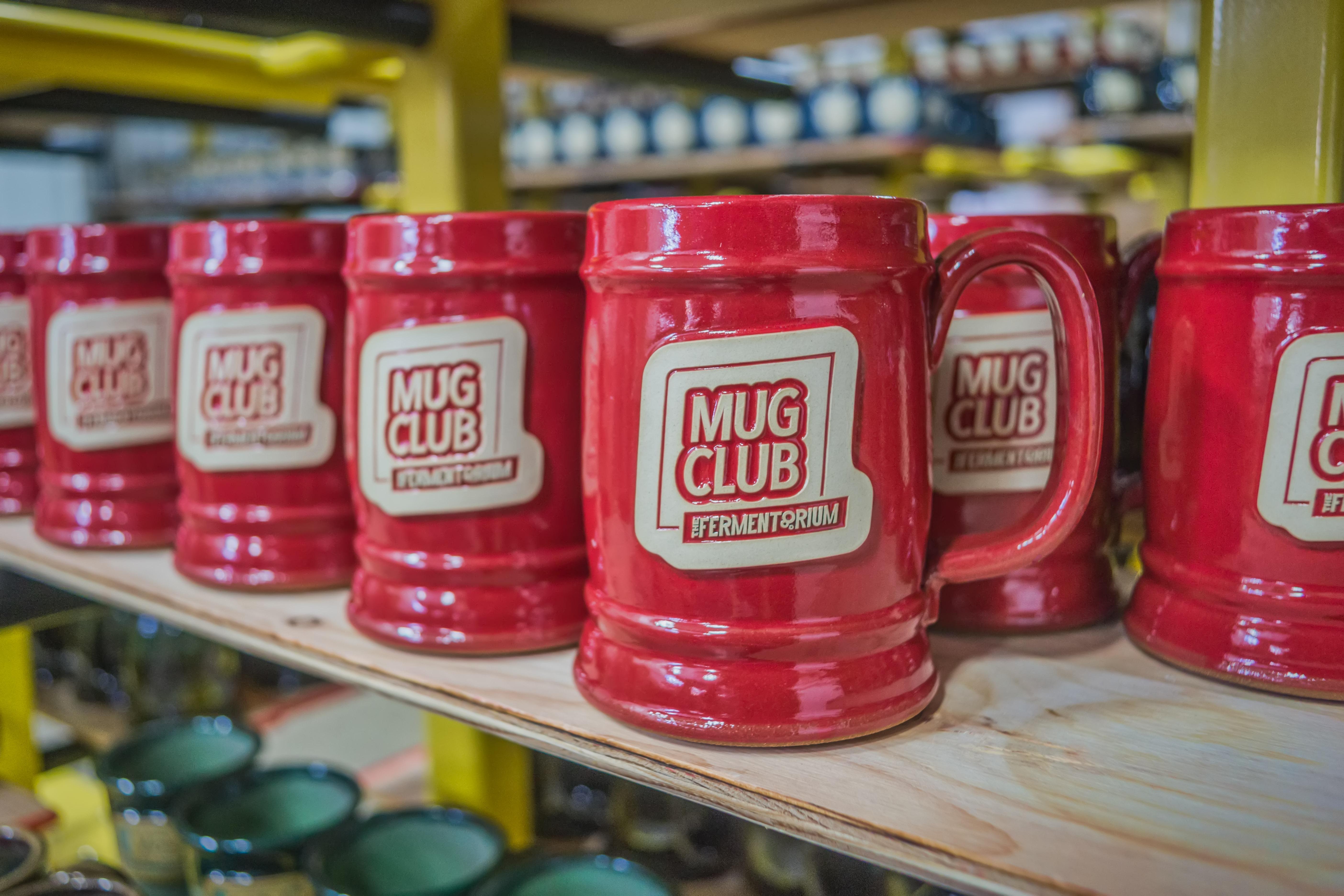 Fermentorium Mug Club steins