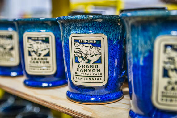Grand Canyon Centennial mug