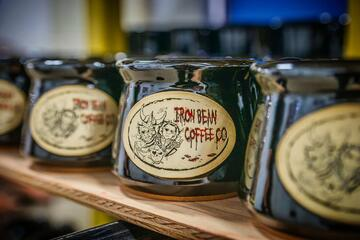 Iron Bean Halloween Mug