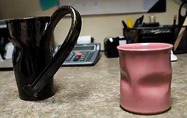 Jenny and Grace's mugs