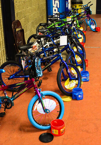 LPPD bicycle raffle prizes