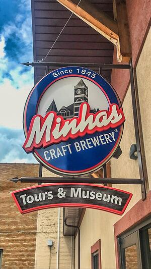 Minhas Brewery Signage