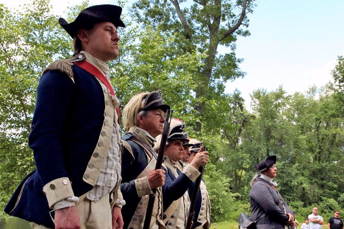 Minute Man National Historical Park reenactors