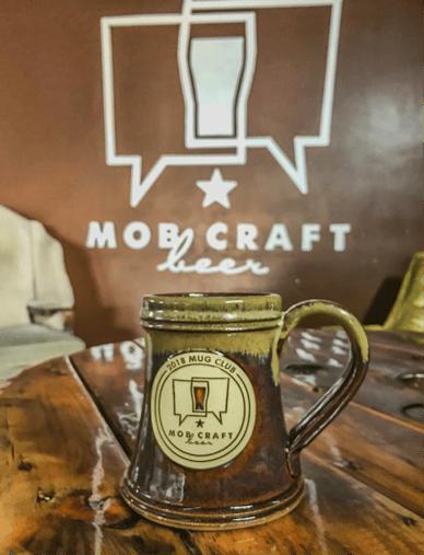 MobCraft beer Sunset Hill Stoneware stein