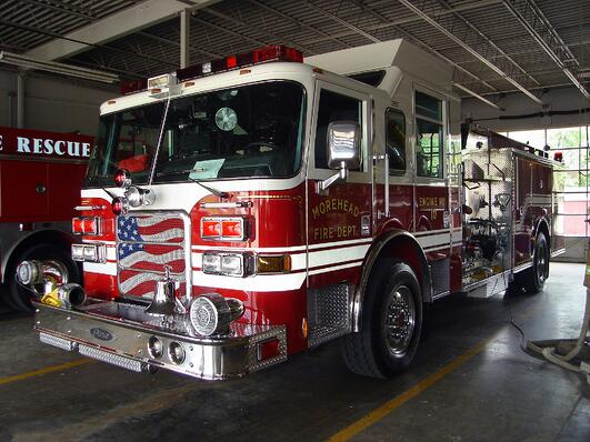 Pierce Enforcer Fire Truck
