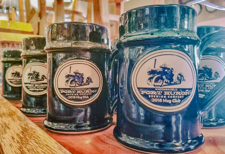 Port Huron Mug Club 2018 Sunset Hill Stoneware