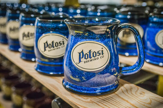 Potosi Brewing Company Sunset Hill Stoneware mug