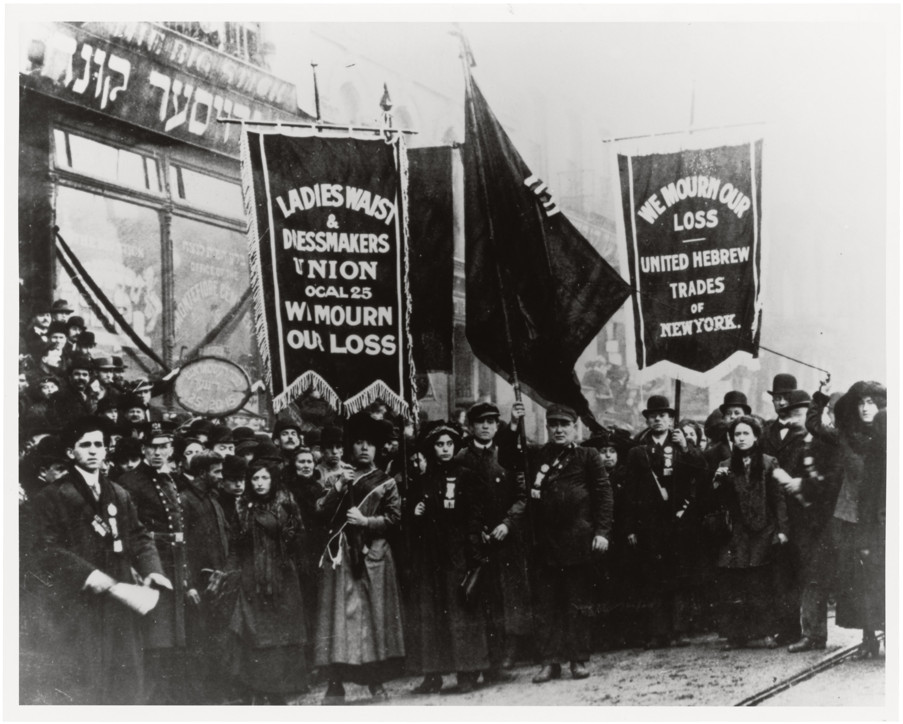Triangle Shirtwaist Factory protests