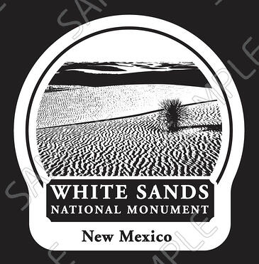 White Sands National Monument Mug Medallion