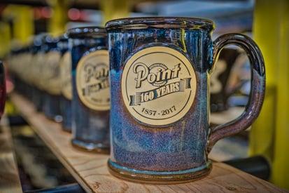 Stevens Point Brewery Sunset Hill Stoneware Anniversary Stein