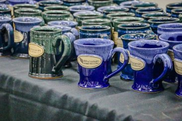 Corporate Mugs from Sunset Hill Stoneware