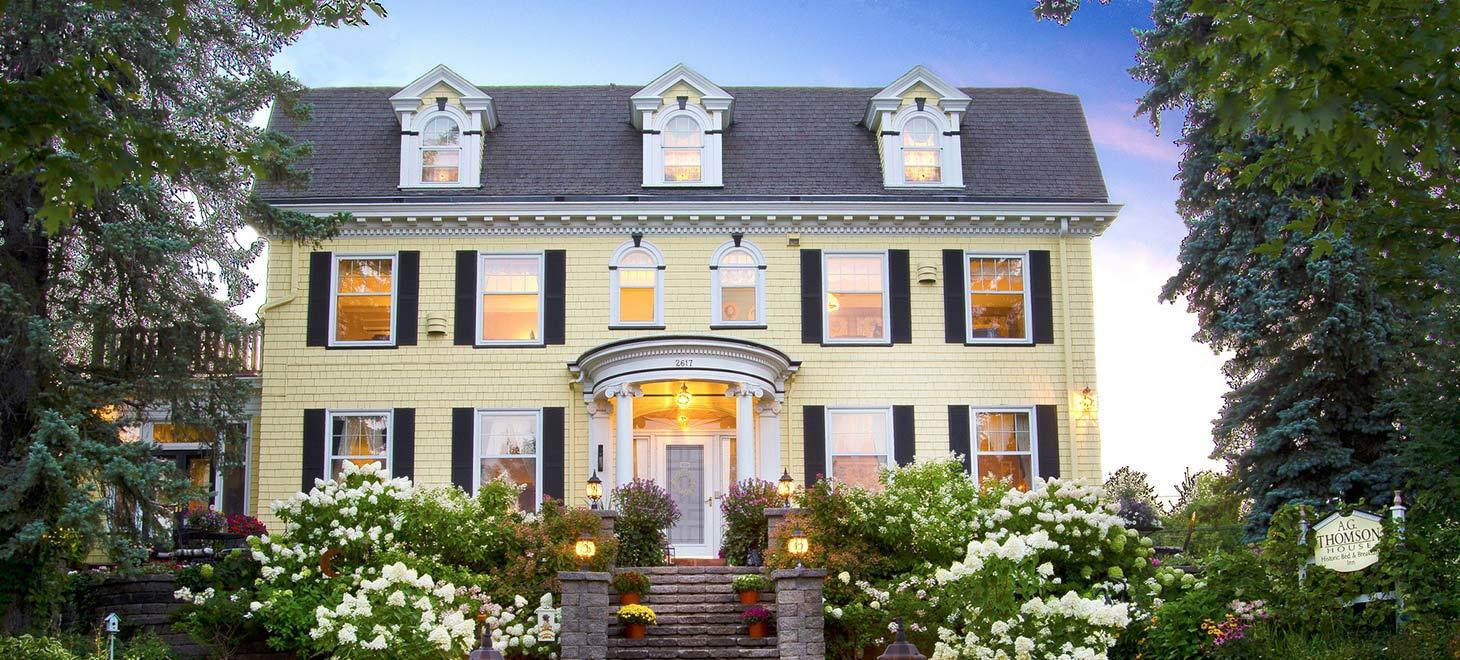 A.G. Thomson House: A Minnesota retreat with a Cinderella story