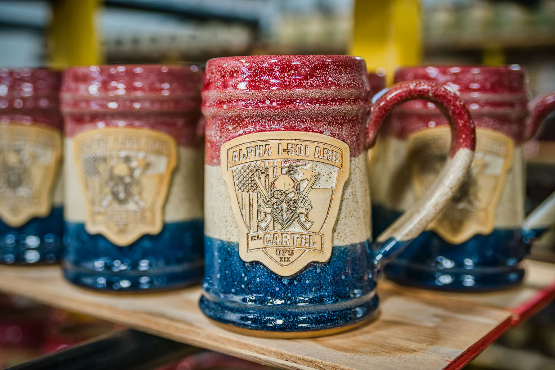 3 Stoneware Mugs for Military Units We Love
