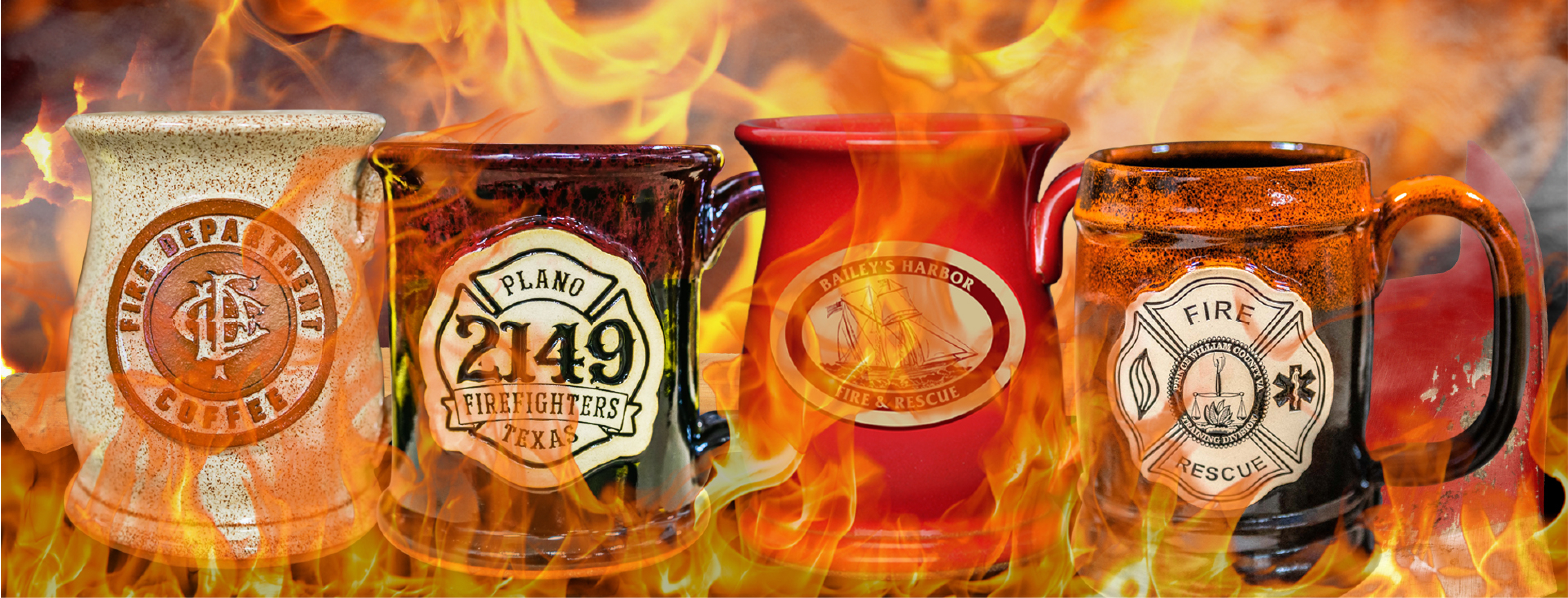 Hot Mugs for Fire Departments