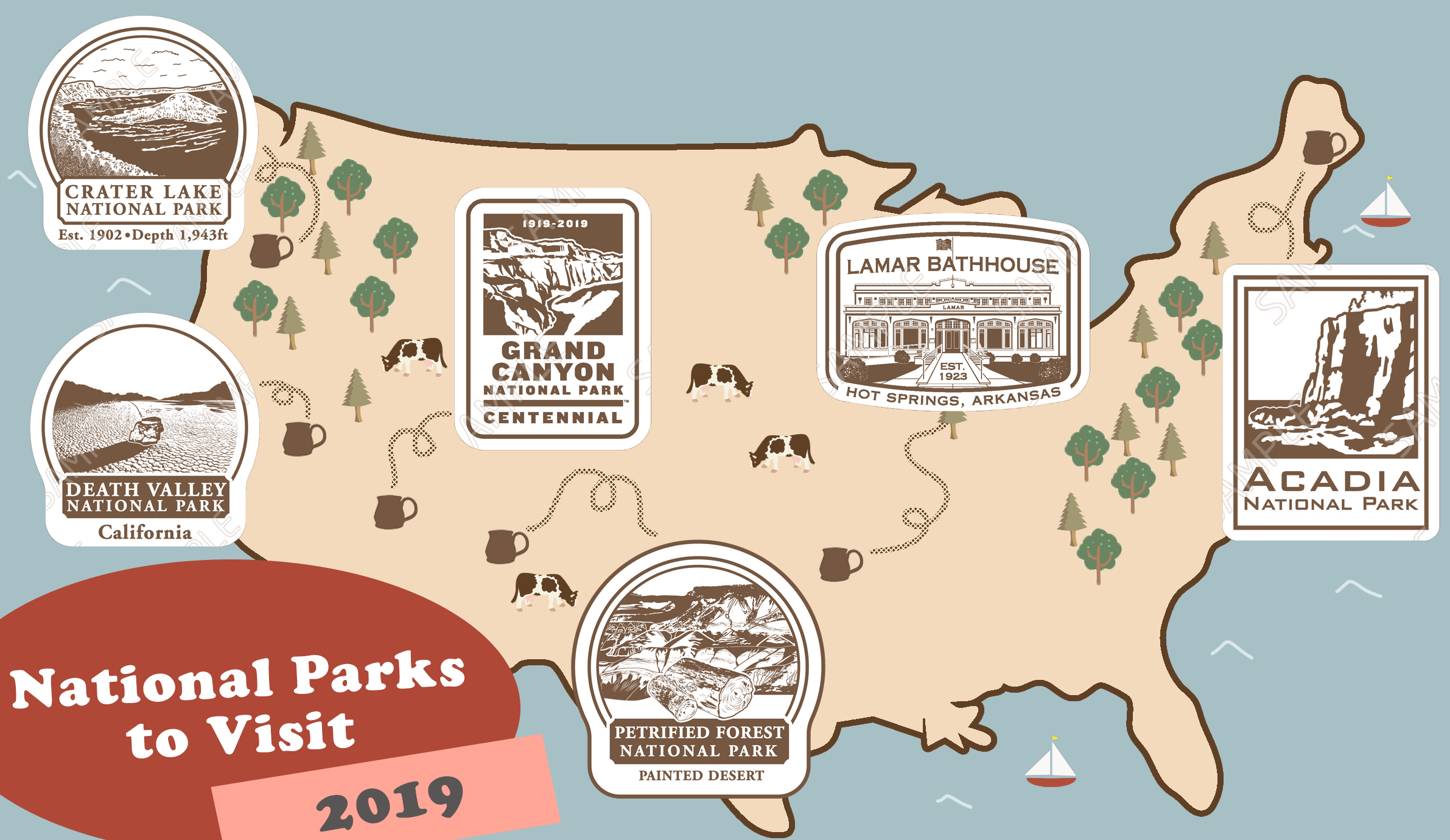 National Parks to Visit in 2019