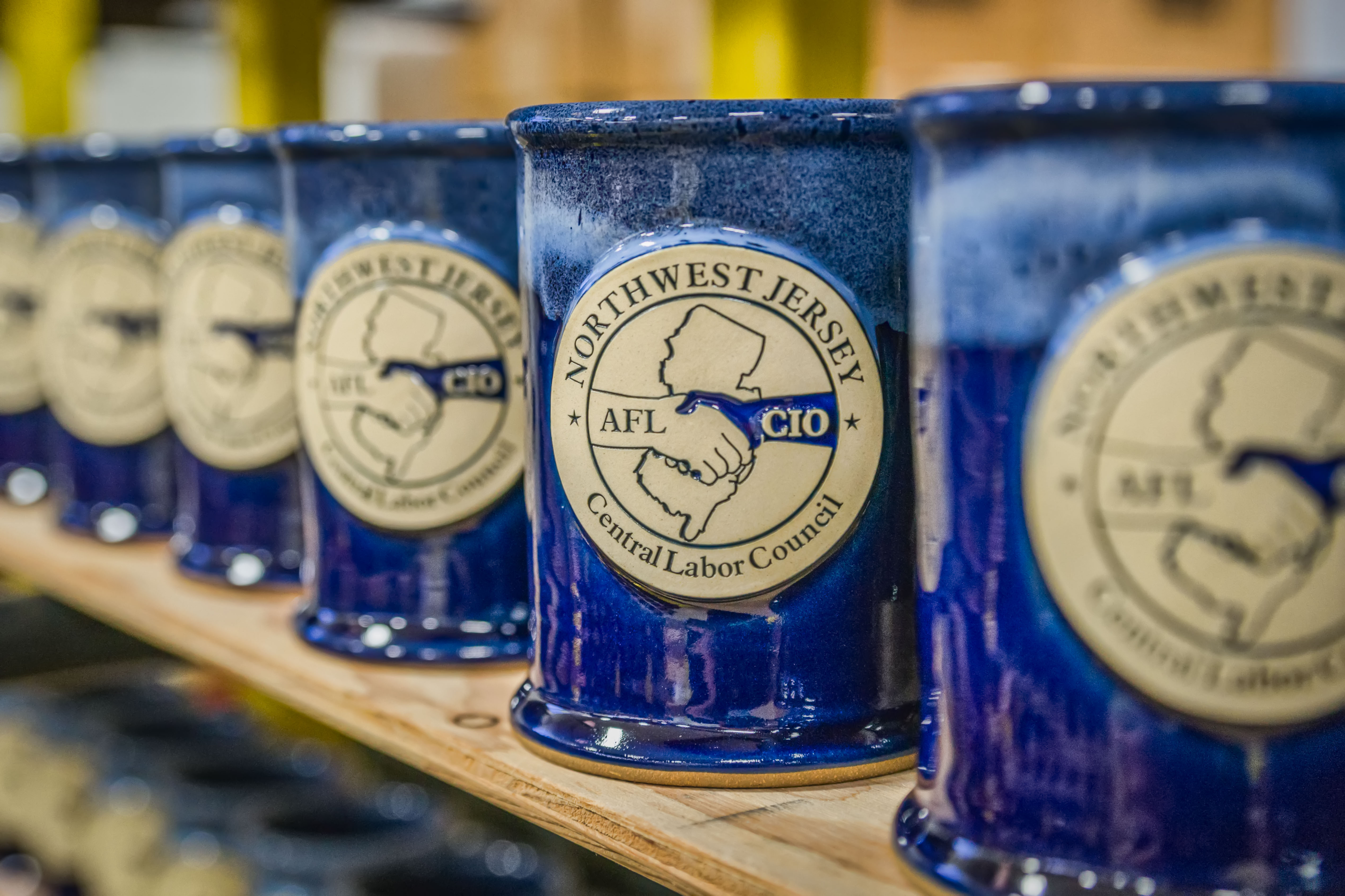 The meaning of Labor Day and union stoneware